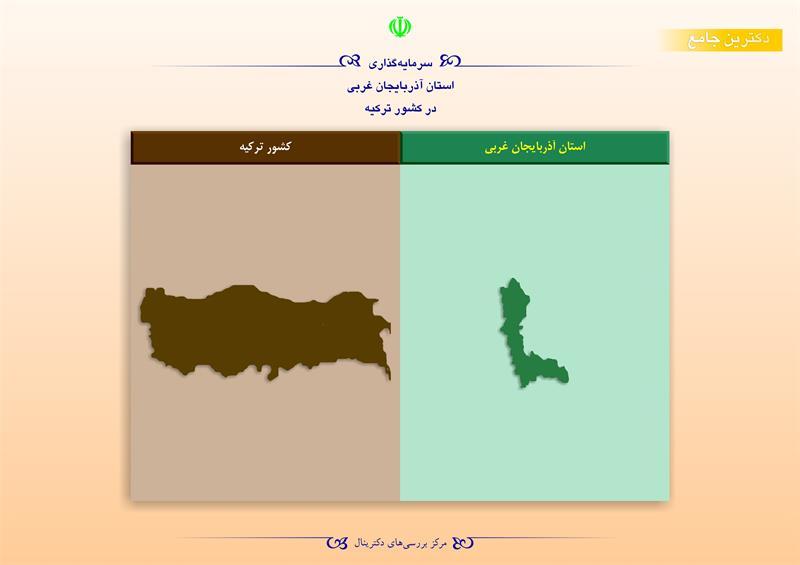 سرمایهگذاری استان آذربایجان غربی در کشور ترکیه