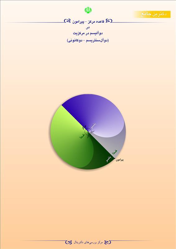 قاعده مرکز پیرامون در دوآلیسم در مرکزیت(دوآل سنتریسم-دوکانونی)