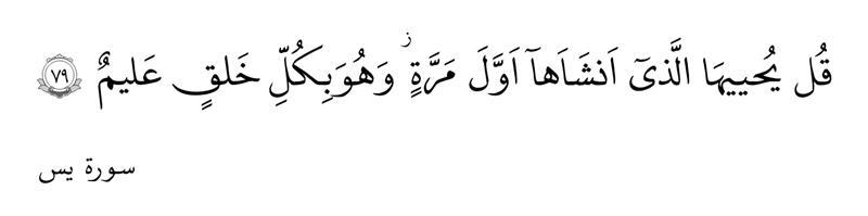 سورهیس آیه ۷۹