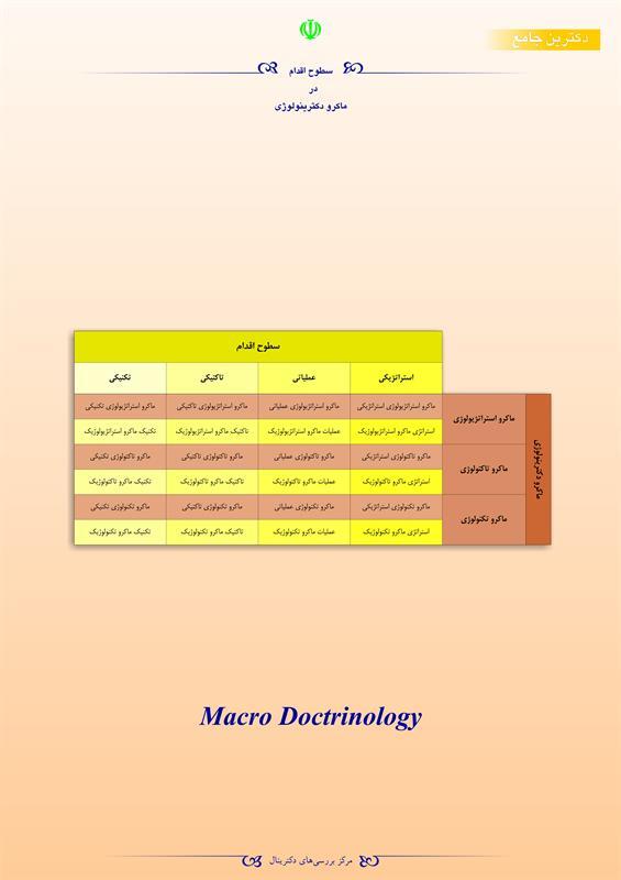 سطوح اقدام در ماکرو دکترینولوژی