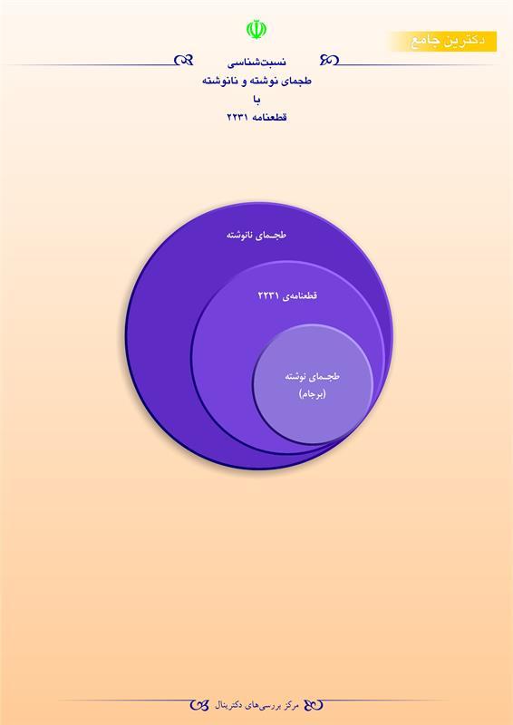نسبتشناسی طجمای نوشته و نانوشته با قطعنامه ۲۲۳۱