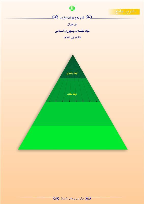 گام دوم دولتسازی در ایران نهاد مقننهی جمهوری اسلامی  1367 تا 1377